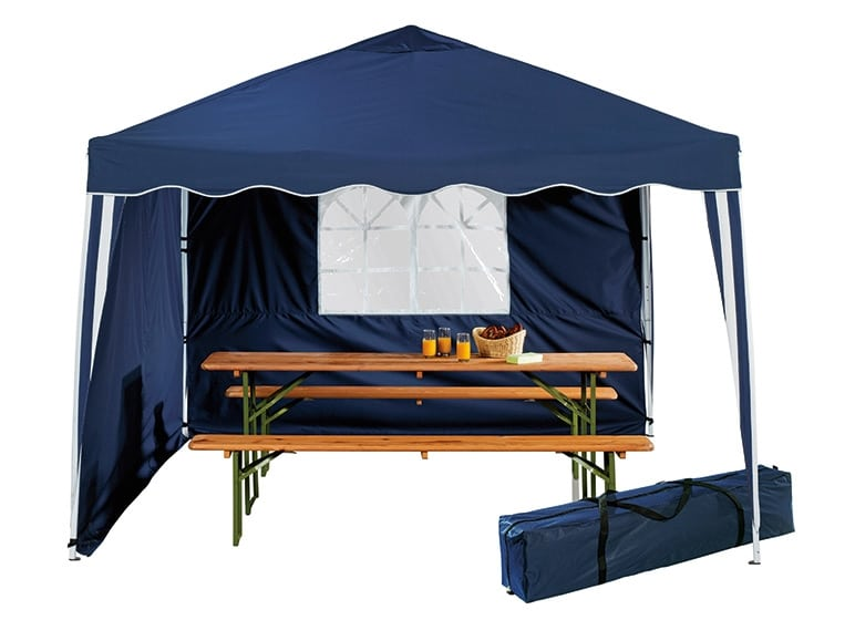 tonelle camping wolfwise tonnelles de camping tente pavillon tente duauvent abri de patio abri. Black Bedroom Furniture Sets. Home Design Ideas