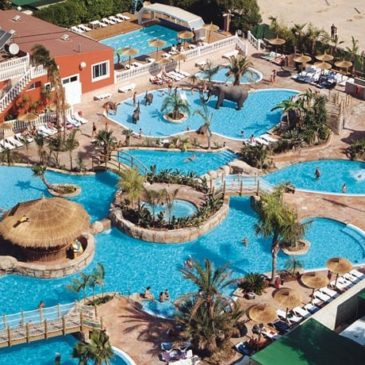 Fin de semana de Champions en el Camping La Marina de Alicante