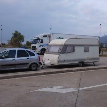 Dormir en ruta con la caravana