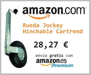 rueda jockey hinchable caravana