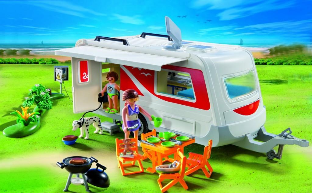 Juguetes de camping for Autocaravana playmobil