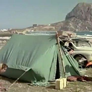 De camping por la Costa Blanca en los 50