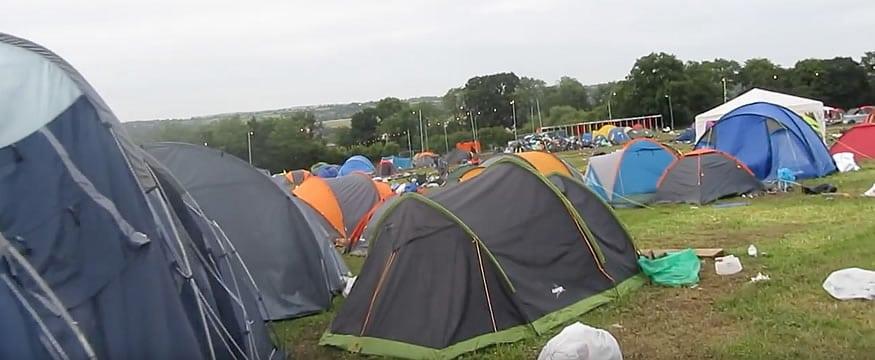 El Camping abandonado